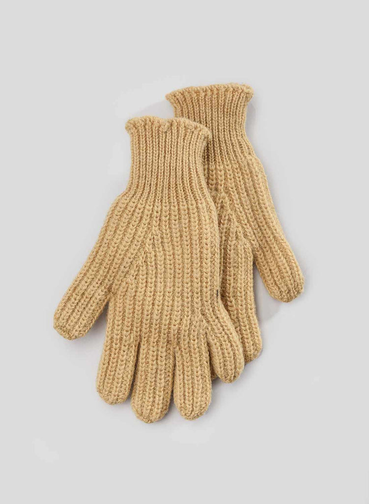 Ribbed Sunflower Yellow Goalie Gloves 3