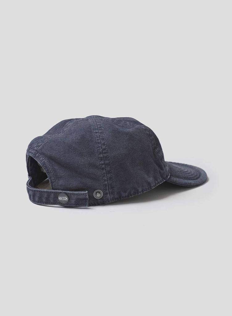 Mechanics Cap in Black Navy