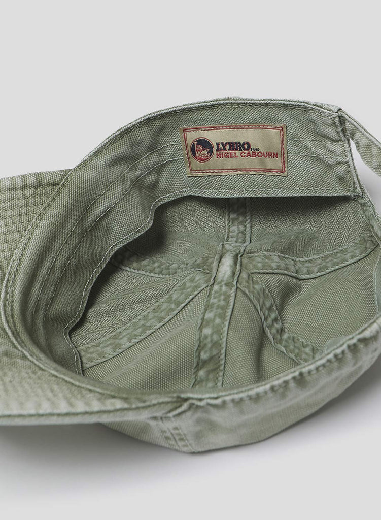 Mechanics Cap in Washed Army