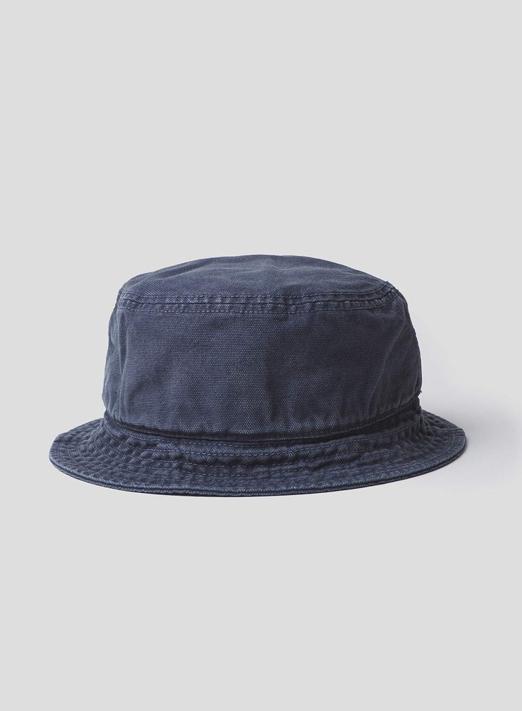 Bucket Hat in Black Navy