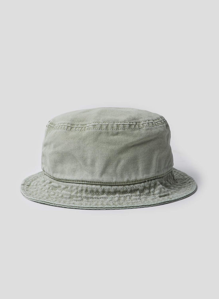Bucket Hat in Washed Army