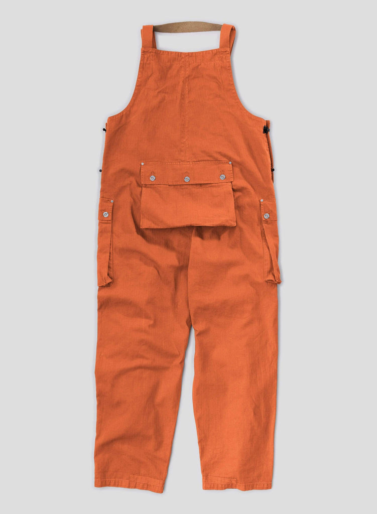 Vintage Orange Naval Dungaree 8