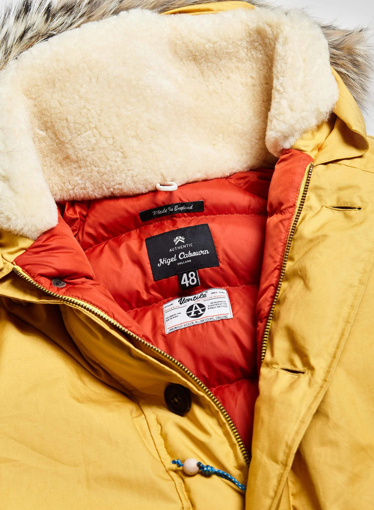 Outerwear Vintage Yellow Everest Parka