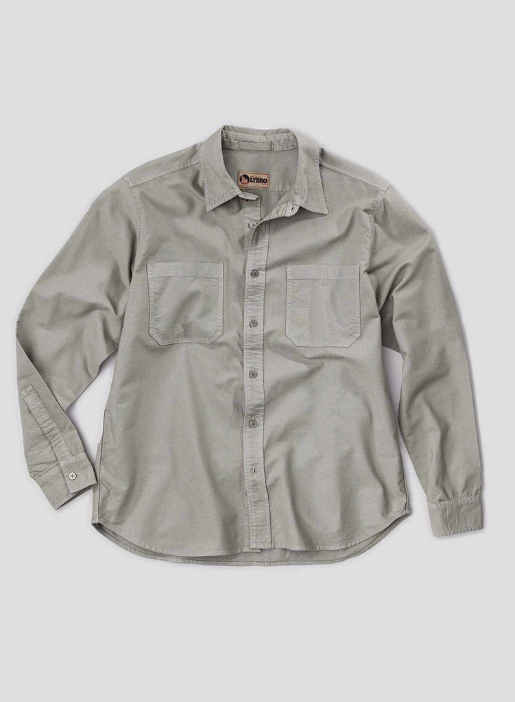 Washed Army Welder Pocket Oxford Shirt