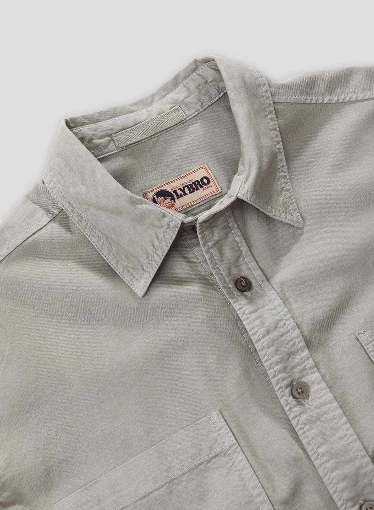 Washed Army Welder Pocket Oxford Shirt 2