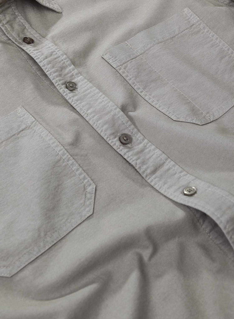 Washed Army Welder Pocket Oxford Shirt 3