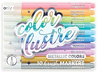 Color Lustre Metallic Brush Markers