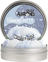 "4"" White Out Thinking Putty"