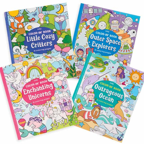 Color-In Books