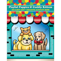 Do-A-Dot Activity Book Puppies and Kittens