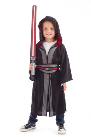 Galactic Villain Cloak w Foam Light Saber