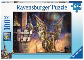 Wizard Fire 100pc Puzzle