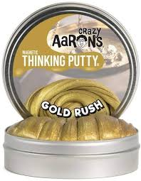 "4"" Gold Rush Thinking Putty"