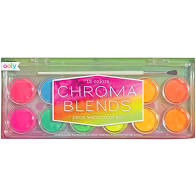 Chroma Blends Neon Watercolor