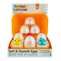 Sort & Squeak Eggs