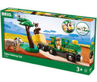 Safari Railway Set