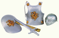 Knight In Shining Armor Set Silver
