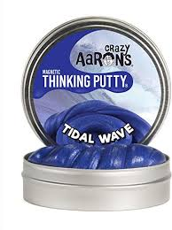 "4"" Tidal Wave Magnetic- Thinking Putty"