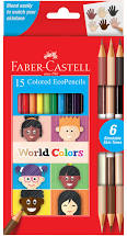 World Colors EcoPencils 15ct.
