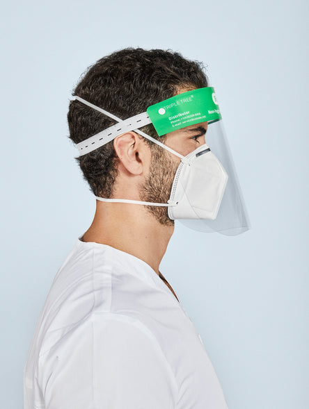 Face Shields (Green Band)