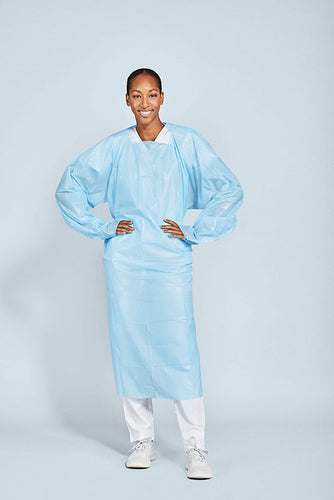 level 1 CPE isolation gown
