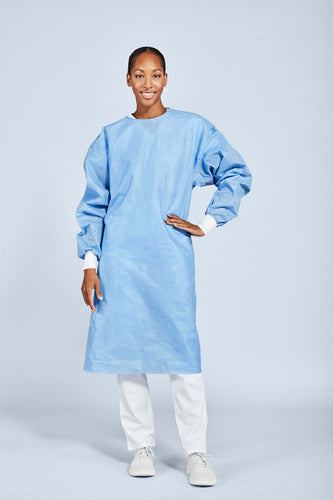 level 3 SMS isolation gown