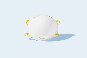 NIOSH N95 mask unvalved