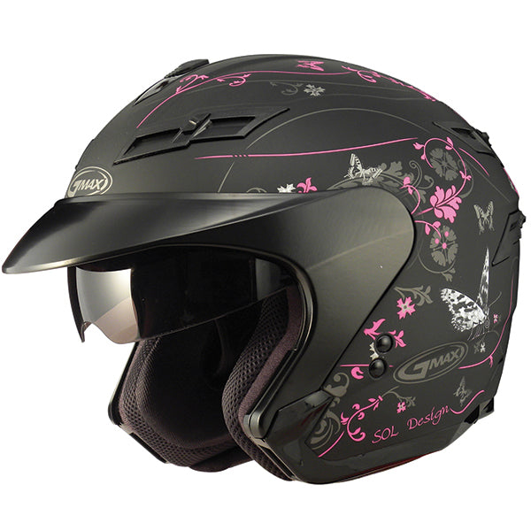 GMAX GM67 OPEN FACE HELMET