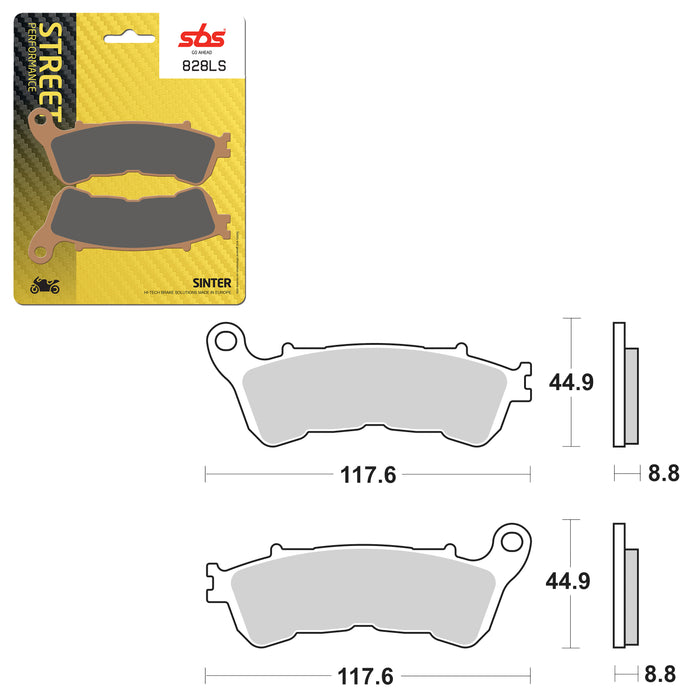 SBS BRAKE PAD SBS828LS