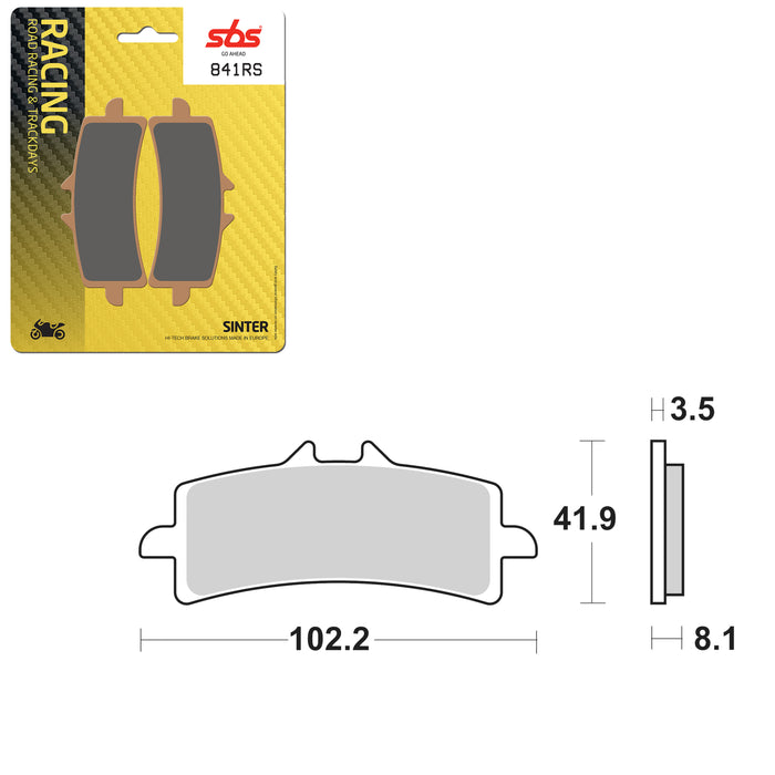 SBS BRAKE PAD SBS841RS