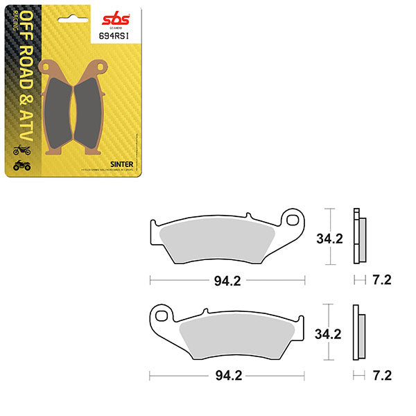 SBS BRAKE PAD SBS694RSI