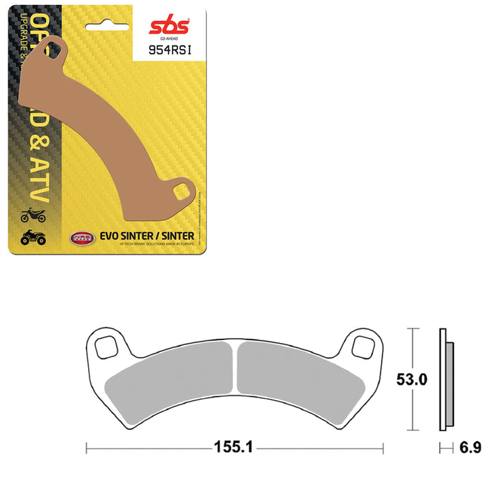 SBS SBS954RSI BRAKE PAD