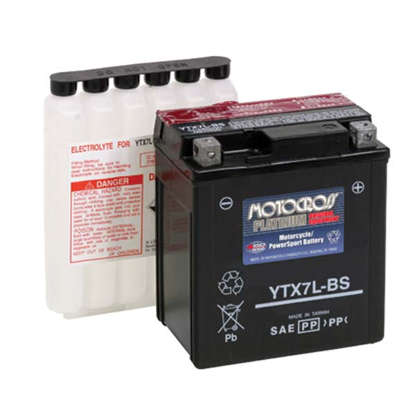 MOTOCROSS YTX7L-BS BATTERY