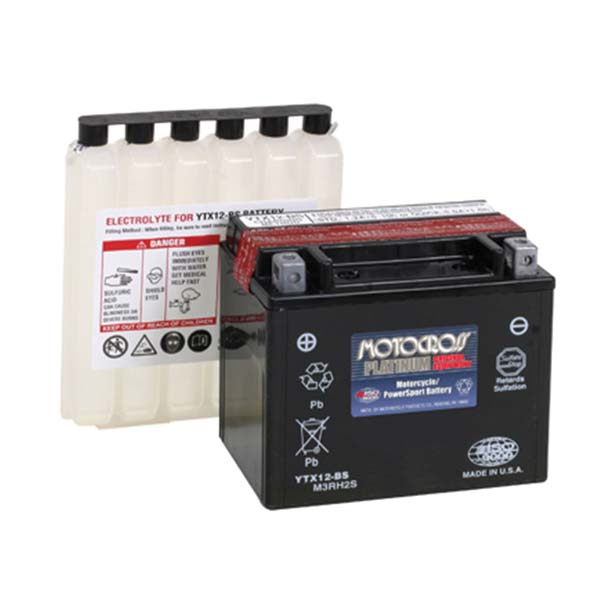 MOTOCROSS YTX12-BS BATTERY