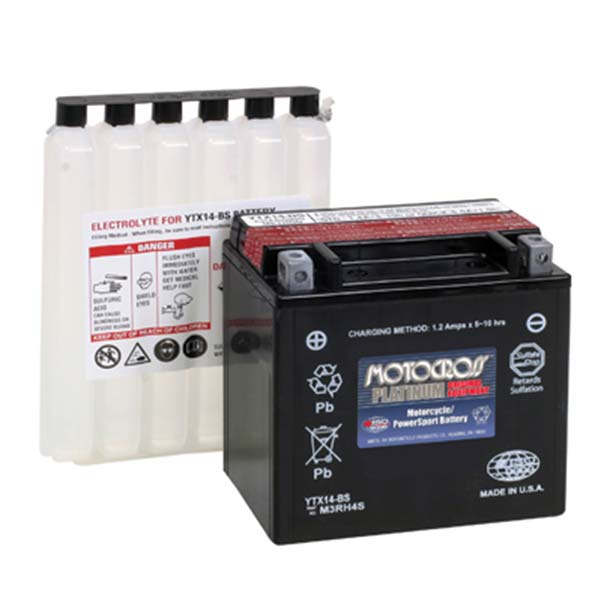 MOTOCROSS YTX14-BS BATTERY