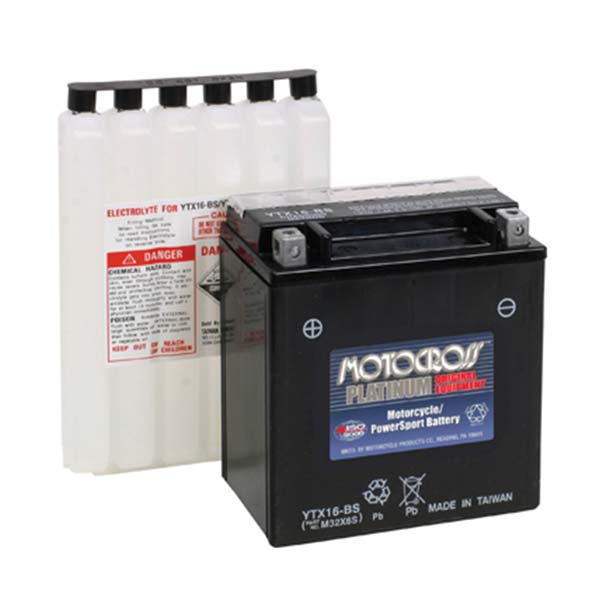 MOTOCROSS YTX16-BS BATTERY