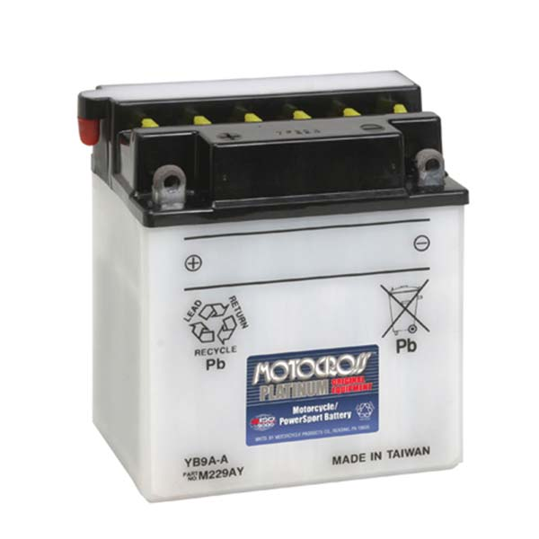 MOTOCROSS YB9A-A BATTERY