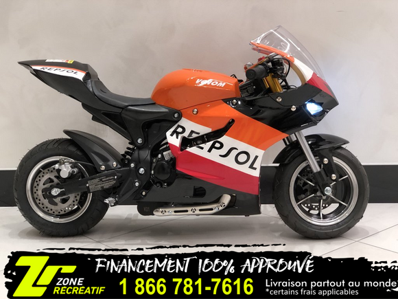 Venom Motorsports 90cc Pocket Bike