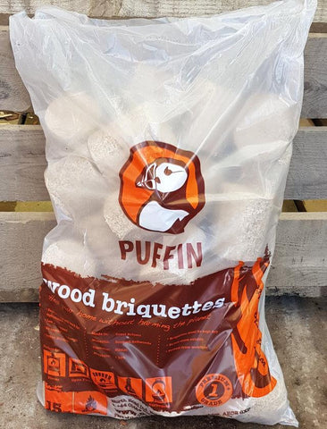 Puffin Wood Briquettes Sale