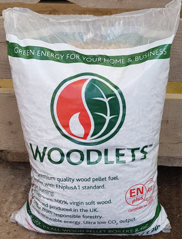 Woodlets Wood Pellets (10kg)