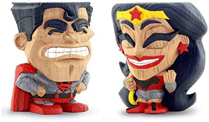 Teekeez Red Son Superman and Wonder Woman
