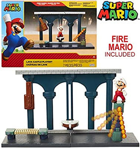 Super Mario Lava Castle Playset