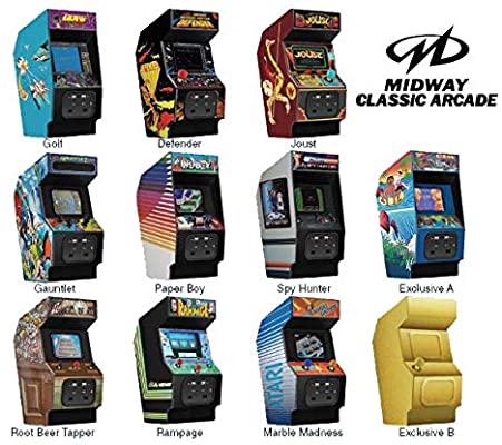 Midway Classic Arcade Collector's Keyring