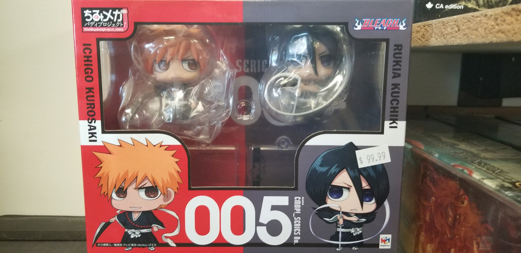 Bleach 2 pack - Ichigo Kirosaki and Rukia Kuchiki