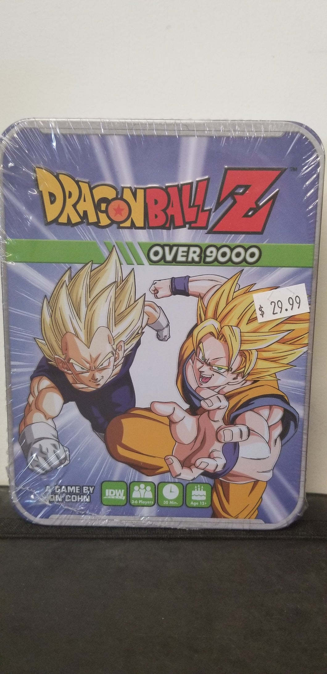 Dragonball Z - Over 9000 Board Game