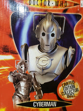 Load image into Gallery viewer, Doctor Who: Cyberman Limited Edition Collector's Bust