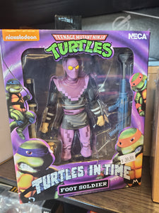 NECA Turtles in Time - Foot Soldier