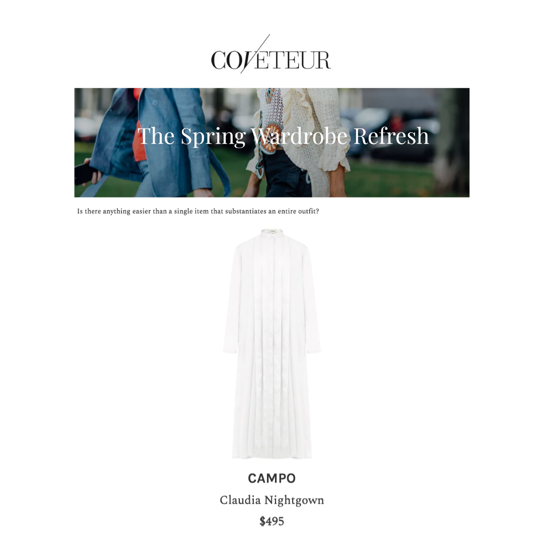 coveteur campo nightgown