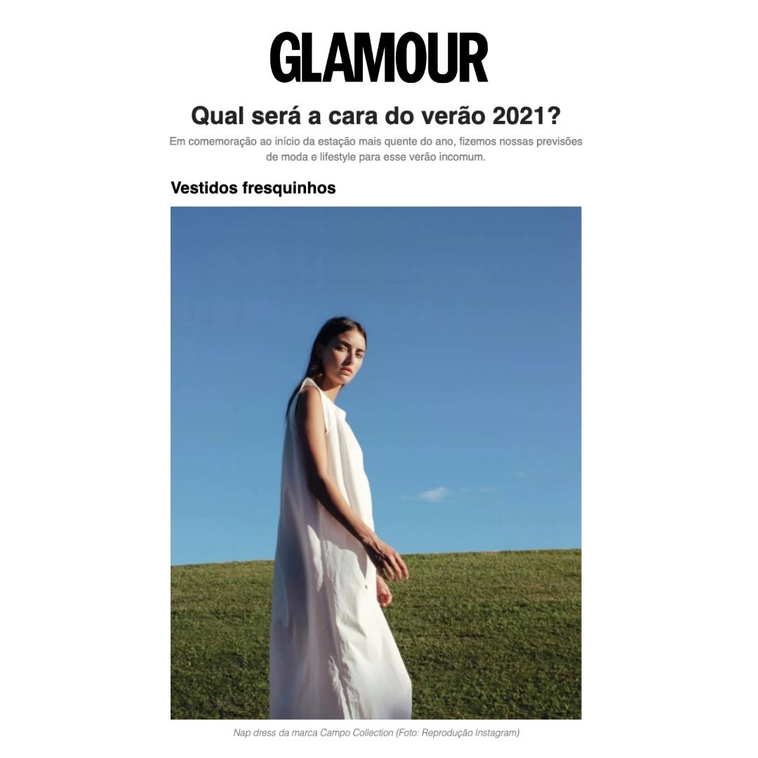 glamour brasil campo collection