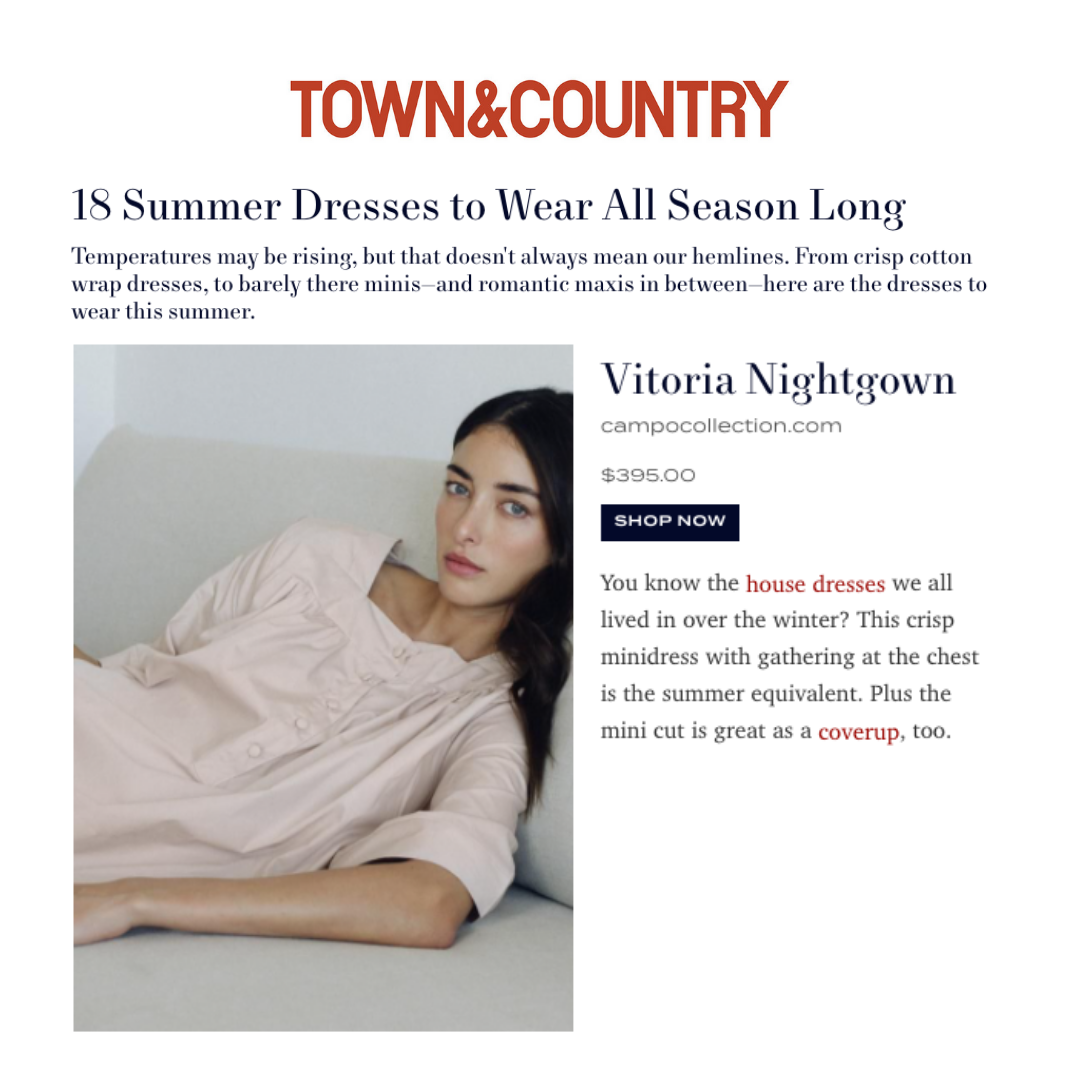 town and country campo collection sleepwear